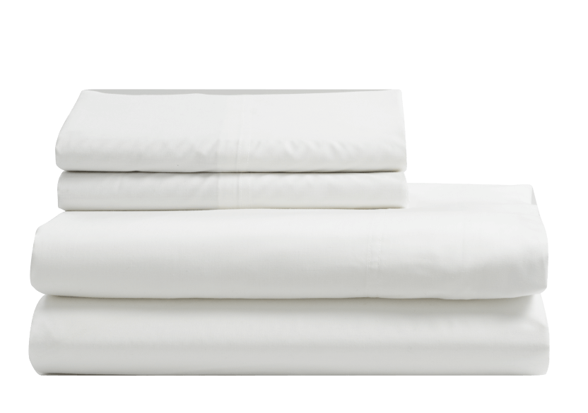 Sheet Set - White - Queen Size product photo Front View L