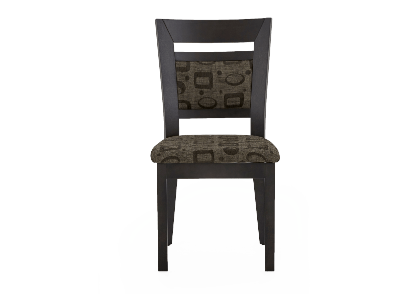 Solid Wood Chair with Fabric Seat product photo