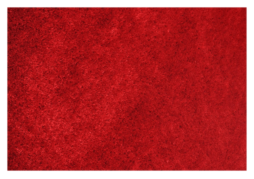 "90X60"" Rug - Red product photo Front View L"
