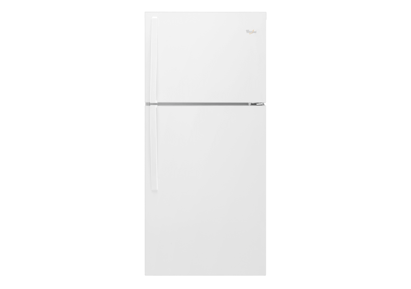 Whirlpool 19.2cu.ft Top Freezer Refrigerator - WRT549SZDW product photo Front View L