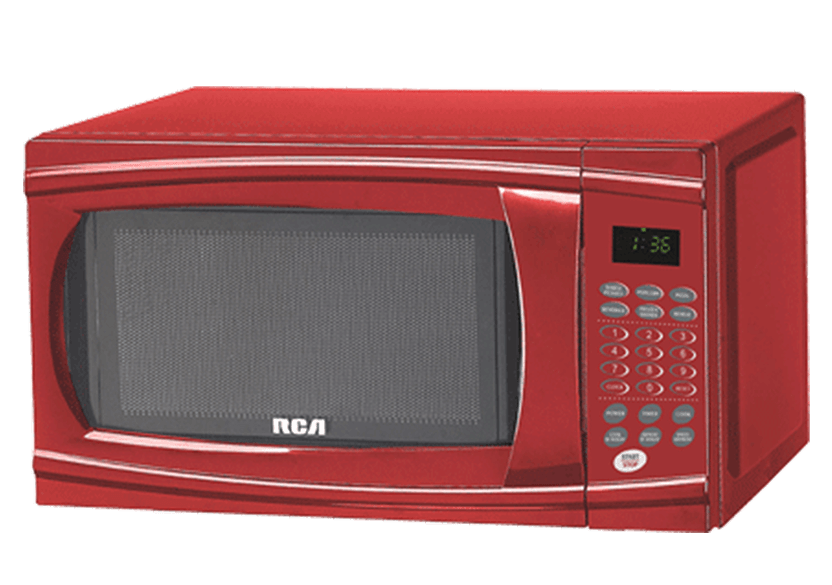 Rca 1 1cu Ft Microwave Rmw1112red