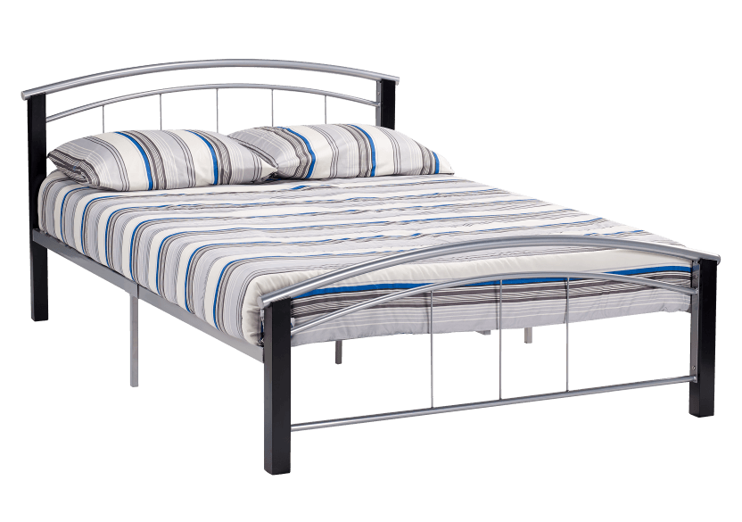 Metal Bed - Double Size product photo Front View L