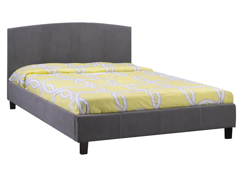 Fabric Bed - Grey - Full Size product photo Front View L