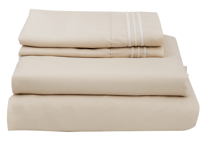 Sheet Set - Beige - Queen Size product photo Front View L