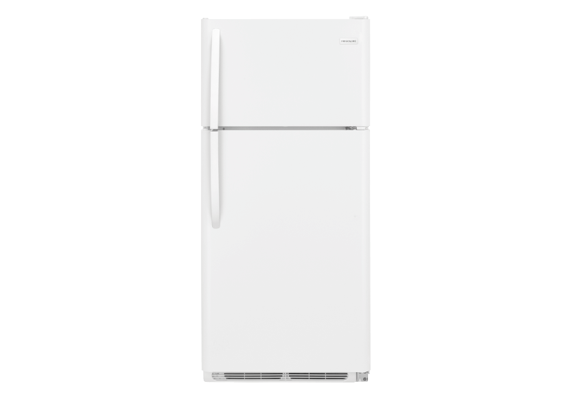 Frigidaire 18cu.ft. Top Freezer Refrigerator - FFTR1821TW product photo Front View L