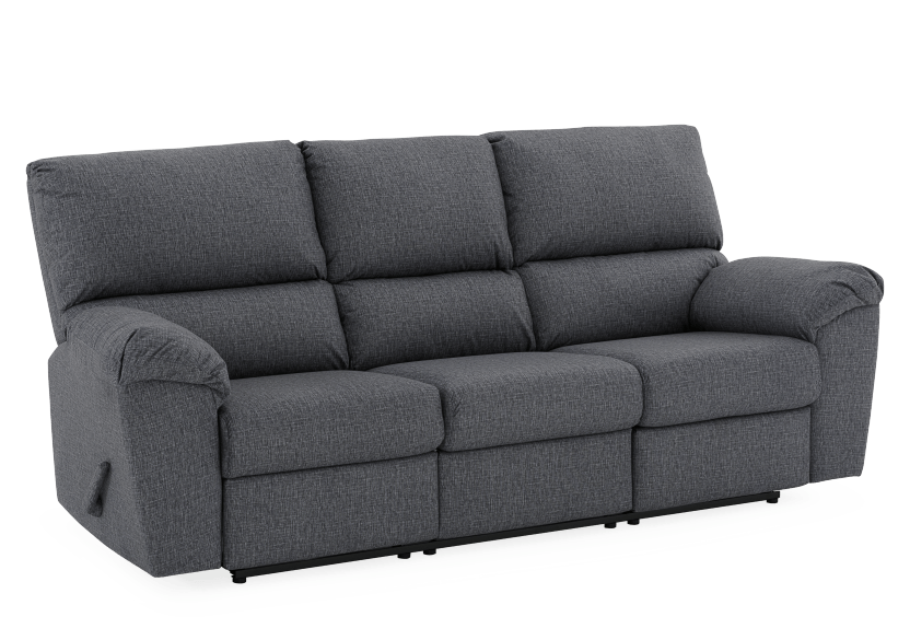 Elran Fabric Reclining Sofa - Grey product photo other01 L