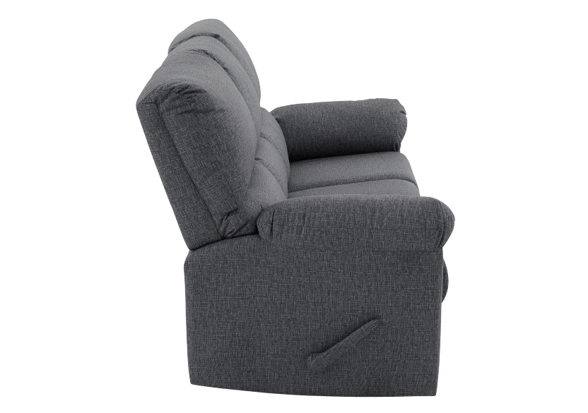 Elran Fabric Reclining Sofa - Grey product photo other02 L