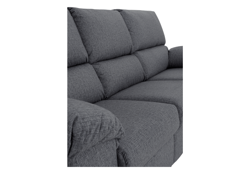 Elran Fabric Reclining Sofa - Grey product photo other06 L