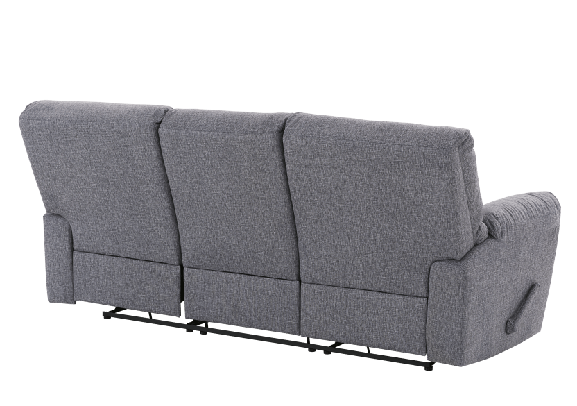 Elran Fabric Reclining Sofa - Grey product photo other08 L