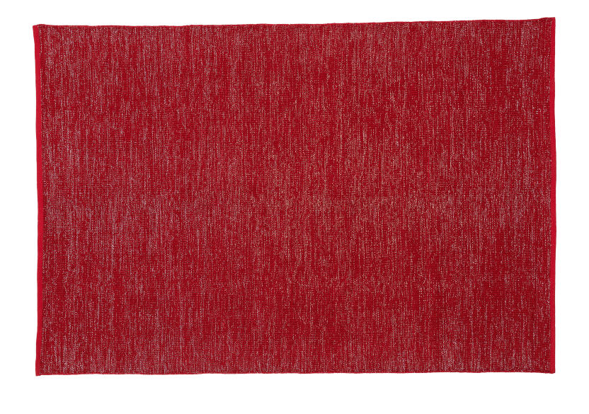 "63X93"" Red Rug product photo Front View L"
