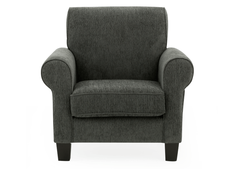 Fabric Armchair - Grey product photo Front View L