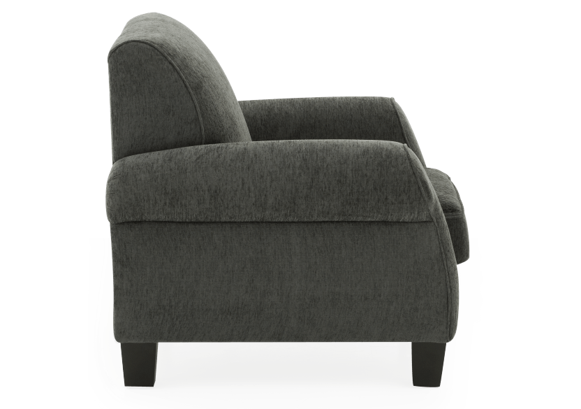 Fabric Armchair - Grey product photo other02 L