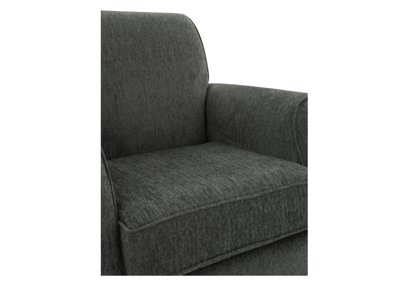 Fabric Armchair - Grey product photo other03 L