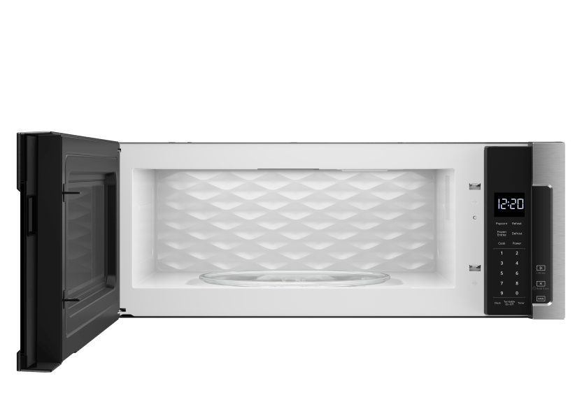 Whirlpool 1.1cu.ft Microwave with Hood - YWML55011HS product photo other01 L