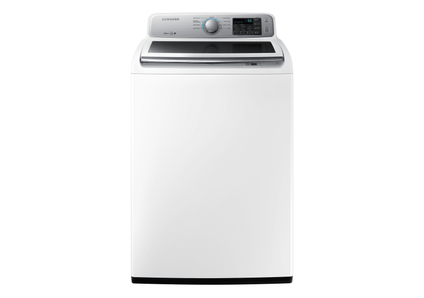 Samsung 5.2cu.ft. HE Top Load Washer - WA45N7150AWA4 product photo Front View L