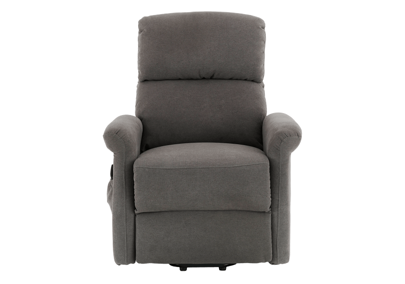 Fabric Electric Lift Recliner - Grey product photo