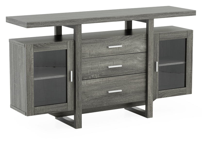 Tv Stand For Tv Under 60 Grey Economax