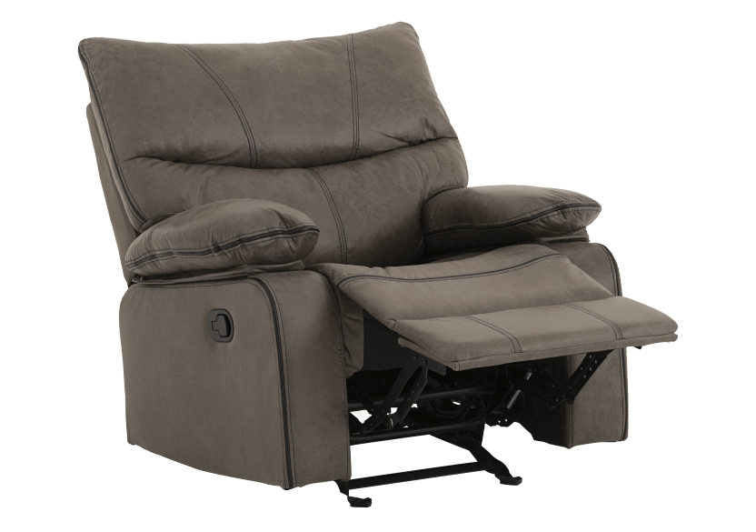 Fabric Rocking Recliner - Grey product photo other01 L
