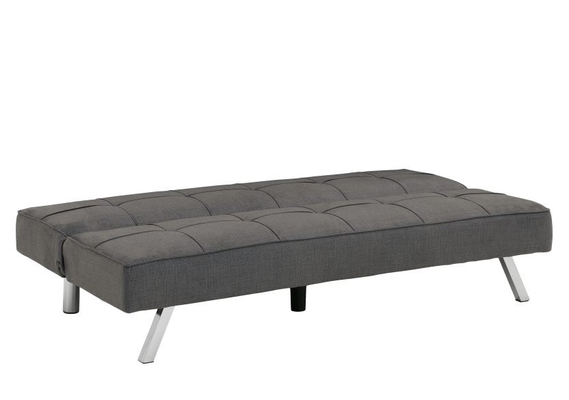 Linen Sofa-Bed - Grey product photo other02 L