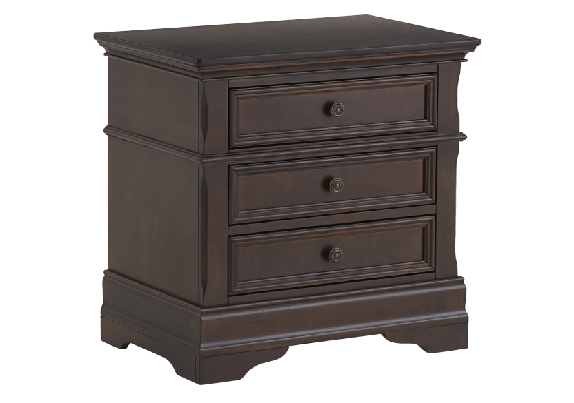 Nightstand - Brown product photo Front View L
