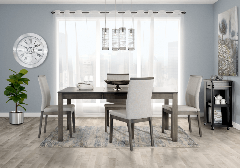 Rectangular Table - Grey product photo other07 L