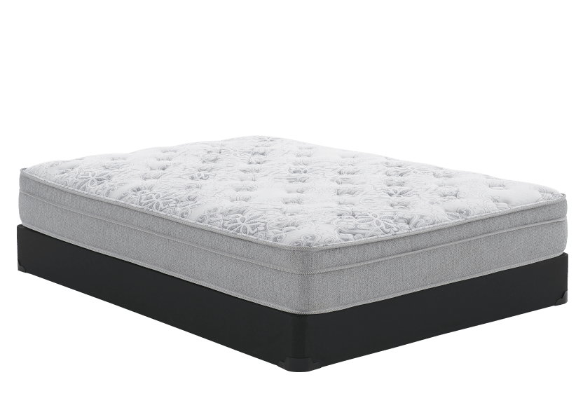 "Queen Size 8"" Mattress and Box Spring Set - Lys Matelas Mirabel product photo Front View L"