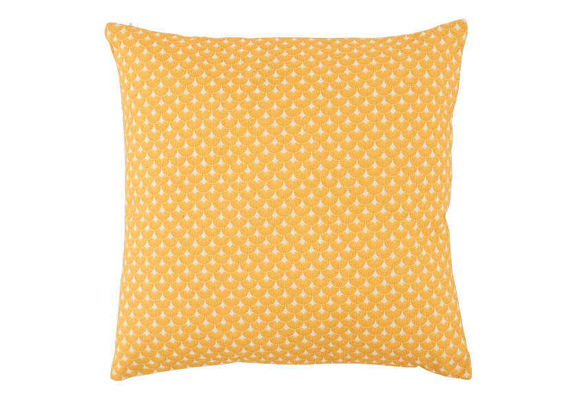 "15X15"" Decorative Pillow - Yellow product photo Front View L"