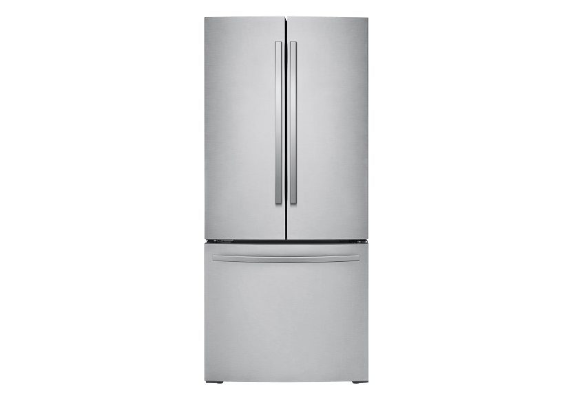 Samsung 21.8ft³ French Door Refrigerator - RF220NFTASRAA product photo Front View L