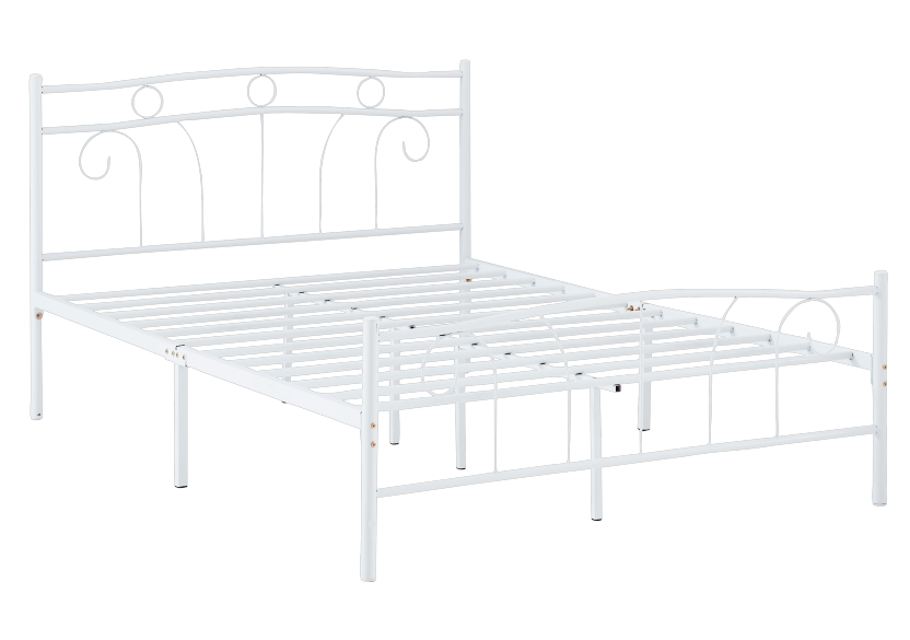 Metal Bed - White - Full Size product photo other01 L