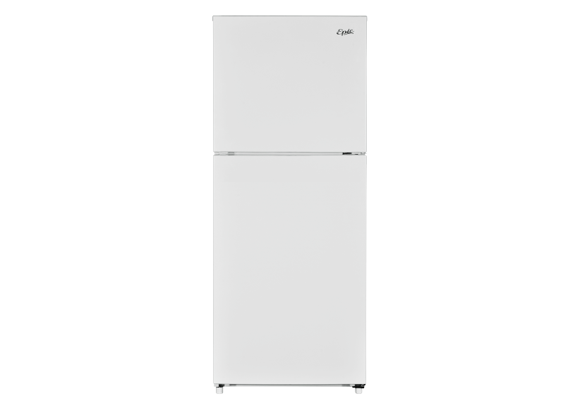 Epic 10,4 ft³ Top Freezer Refrigerator - EFF104W product photo Front View L