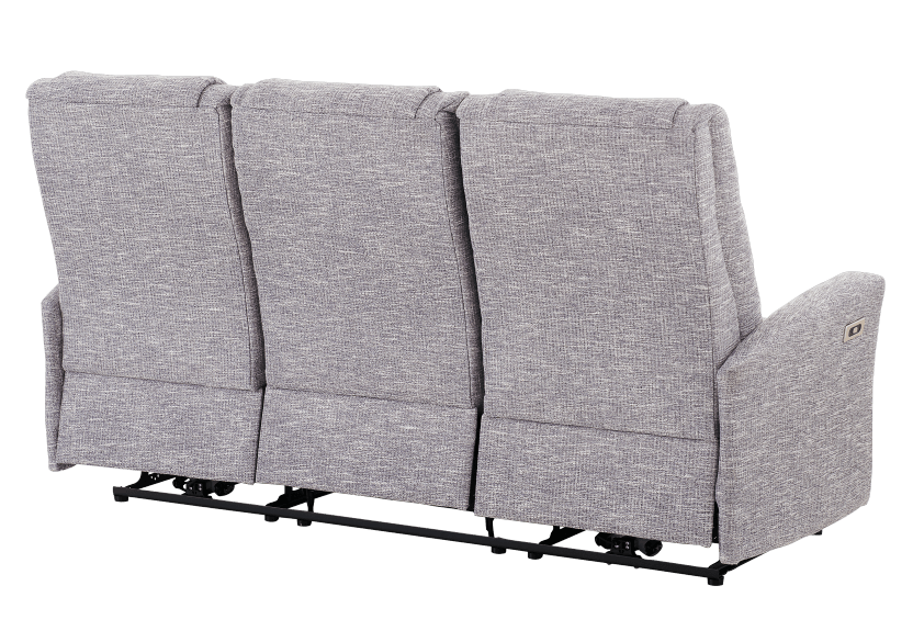 Reclining Electric Fabric Sofa - Grey product photo other08 L