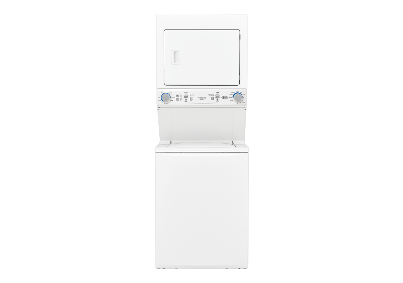 Frigidaire Stackable Washer and Dryer Set - FLCE752CAW product photo Front View L