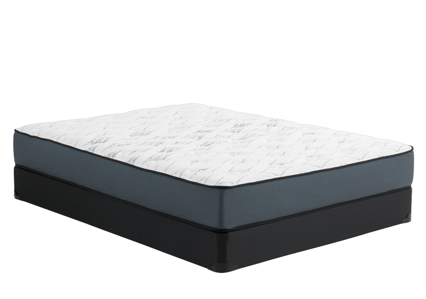 "Full Size 4"" Mattress and Box Spring Set - Lilas Matelas Mirabel product photo Front View L"