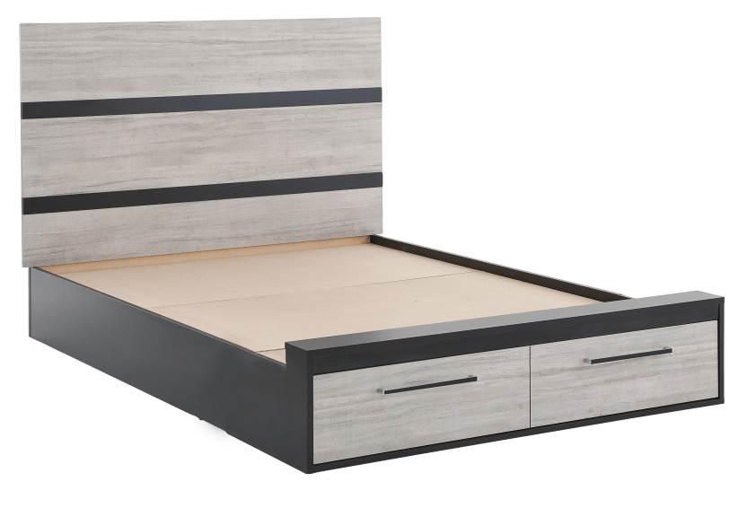 Drawer Bed - Black and Grey - Queen Size product photo other01 L