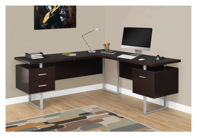 Desk - Dark Brown product photo other04 L