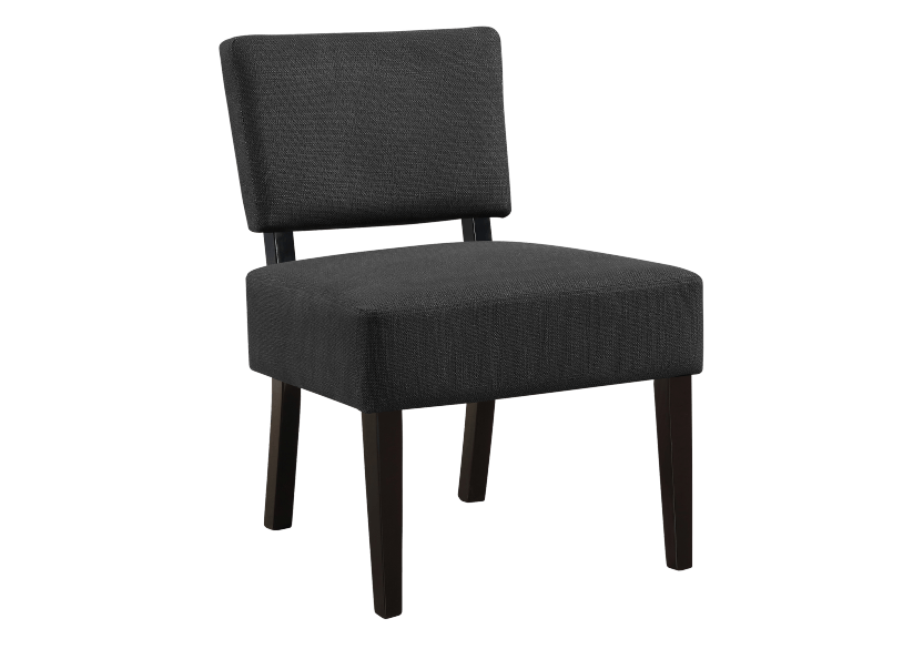 Fabric Side Chair - Dark Grey product photo
