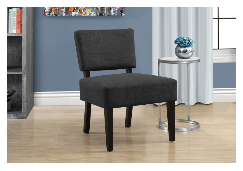 Fabric Side Chair - Dark Grey product photo other04 L