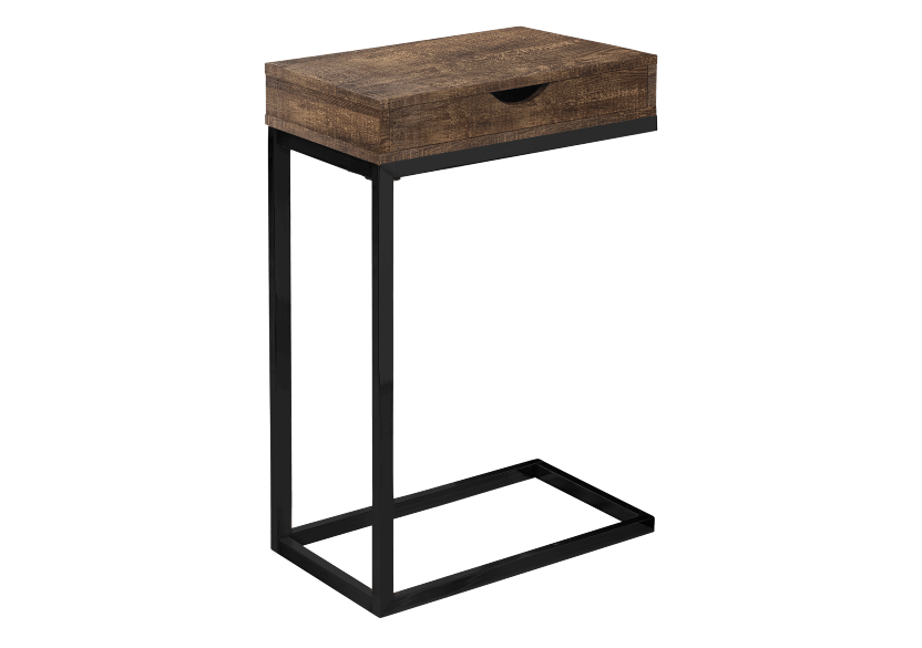 Side Table - Brown and Black product photo
