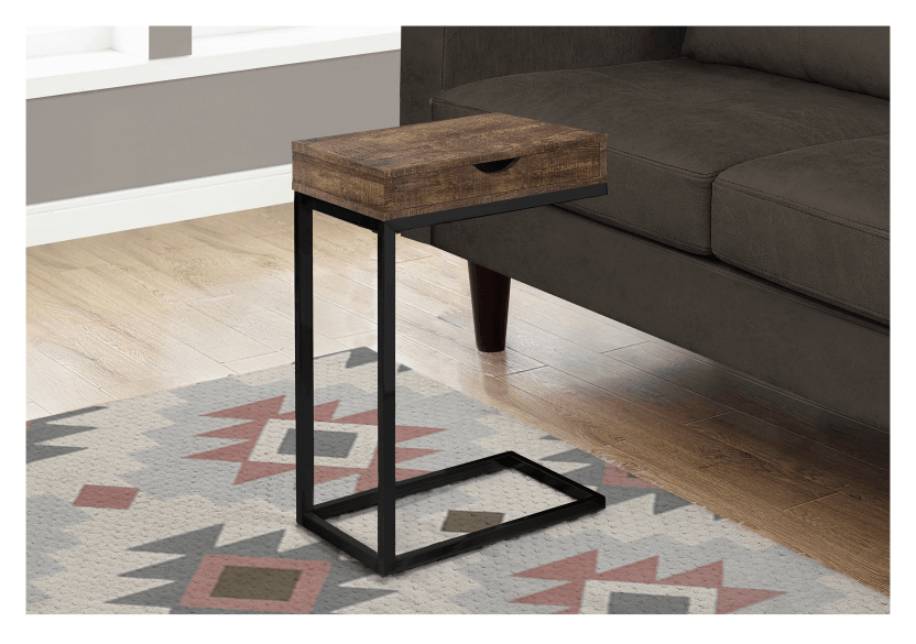 Side Table - Brown and Black product photo other04 L
