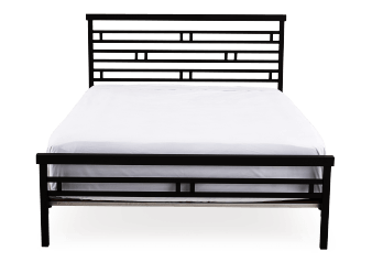 Adjustable Metal Bed - Black - Full Size product photo