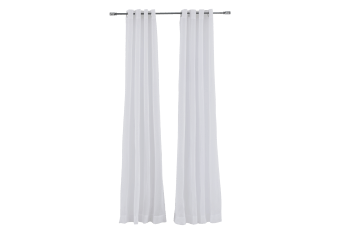 "54X96"" Set of 2 Curtains - White product photo"