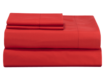 Sheet Set - Red - Twin Size product photo