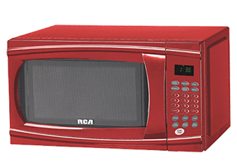 RCA 1.1cu.ft Microwave - RMW1112RED product photo