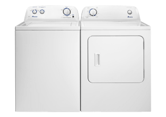 Amana Washer and Dryer Set - NTW4516FW YNED4655EW product photo