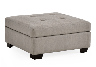 Storage Ottoman - Grey product photo