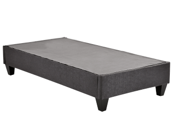 Dismountable Box Spring with Legs Bed Base - Twin Size product photo