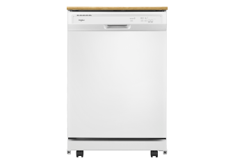 Whirlpool 64dBa Portable dishwasher- WDP370PAHW product photo