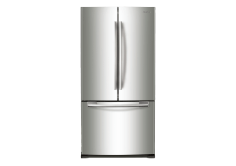 Samsung 17.8cu.ft French Door Refrigerator - RF18HFENBSRAC product photo