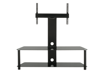 "TV Stand for TV Under 70"" - Black product photo"