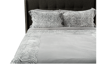 Duvet Cover Set - Extra Large Queen Size - Grey product photo